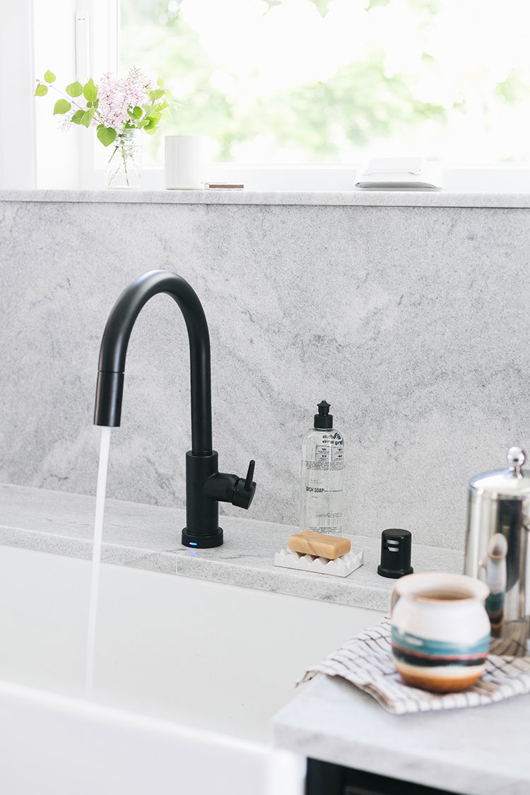 How We Added Technology to Our Kitchen Renovation with @deltafacuet! See more ofour kitchen renovation on jojotastic.com #ad #deltafaucet #oldhouse #kitchen #kitchenrenovation #demoday #renovation #oldhome #oldhomerenovation #smallspaces #smallkitchen #kitchenrenovation #beforeafter #kitchenmakeover #kitchen #makeover #fixerupper