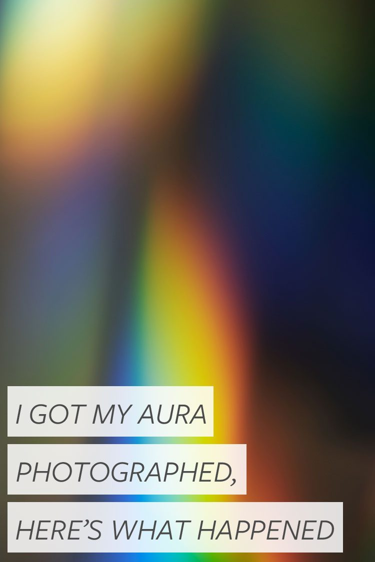 All About Aura Portrait Photography! What does it mean to have your aura photographed, where you can do it, and more. #aura #auraportrait #auraphotography #wellness #selfcare