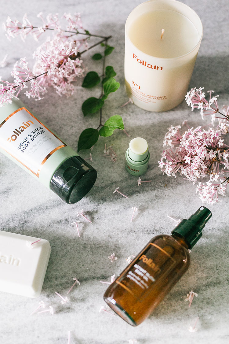 New Clean Beauty Exclusives from Follain + a giveaway! @follain #giveaway #cleanbeauty #naturalskincare #selfcare #beauty #skincare #cleanskincare #essentialoils #entertowin