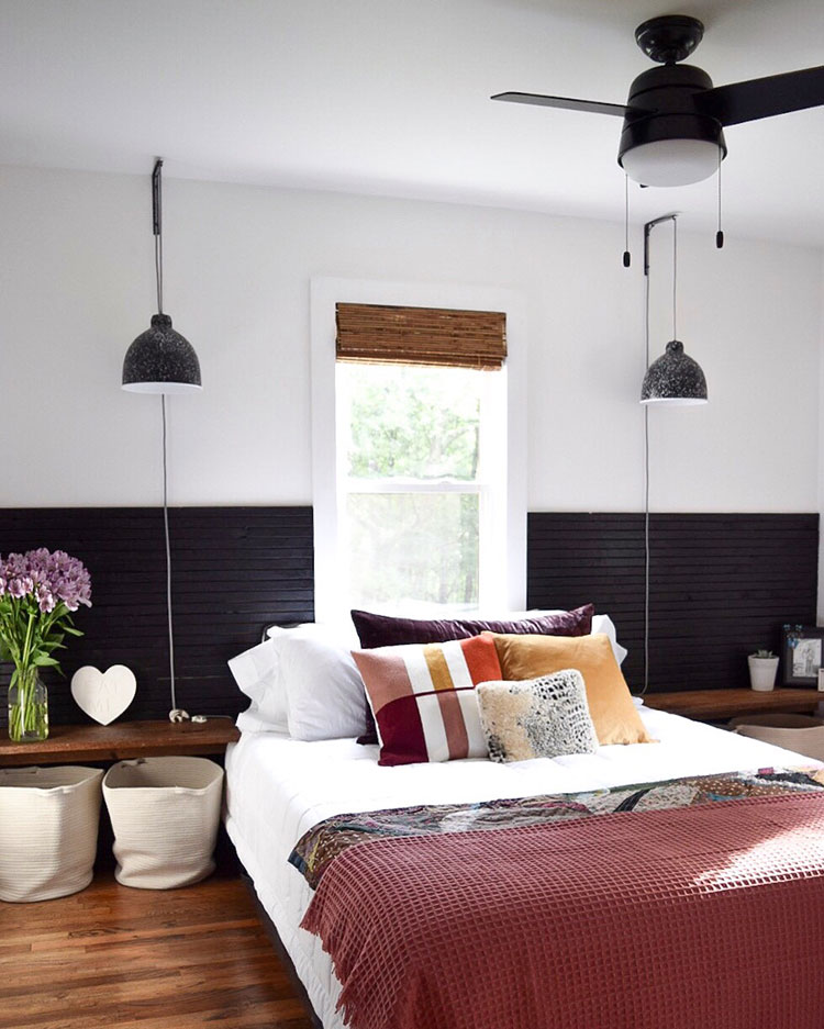Small Space Squad Home Tour: Inside The Bold and Bright Home of A Small Life aka Melanie Gnau @asmalllife#smallspaces #tinyhouse #livesmall #smallspacesquad #hometour #housetour #minimalist #moderndecor #modernrustic #modernfarmhouse