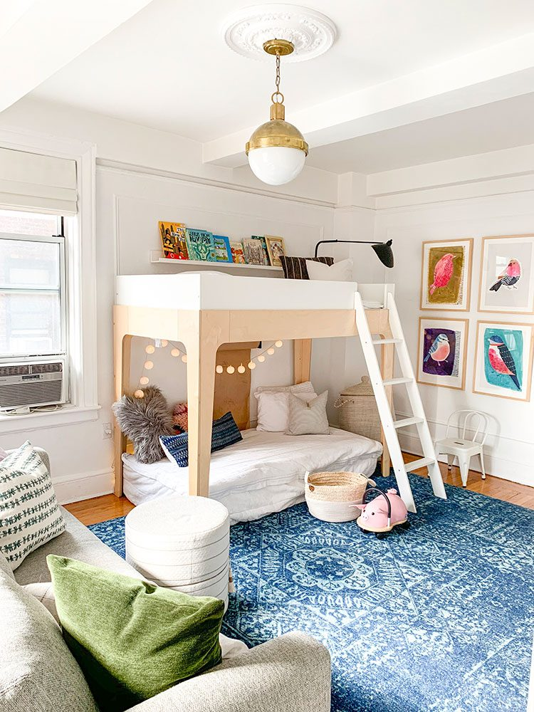 Small Space Squad Home Tour: Inside Eclectic, Kid-Friendly Apartment of Crystal Ann Interiors @ccnielsen  #smallspaces #tinyhouse #livesmall #smallspacesquad #hometour #housetour #minimalist #moderndecor