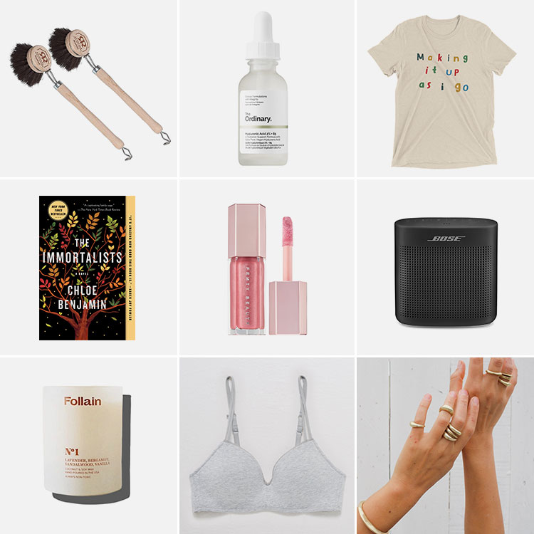 9 things of note: Joanna's Favorite Things from July 2019. including Fenty Gloss Bomb, Bose speaker, Follain candle, wireless bra and MORE! #thingsofnote #shopping #shoppingguide #musthaves