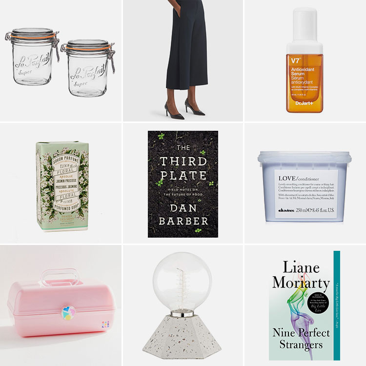 9 things of note: Joanna's Favorite Things from August 2019. including M.M. LaFleur pants, Dr. Jart serum, terrazzo lamp, jasmine soap, Caboodle and MORE! #thingsofnote #shopping #shoppingguide #musthaves
