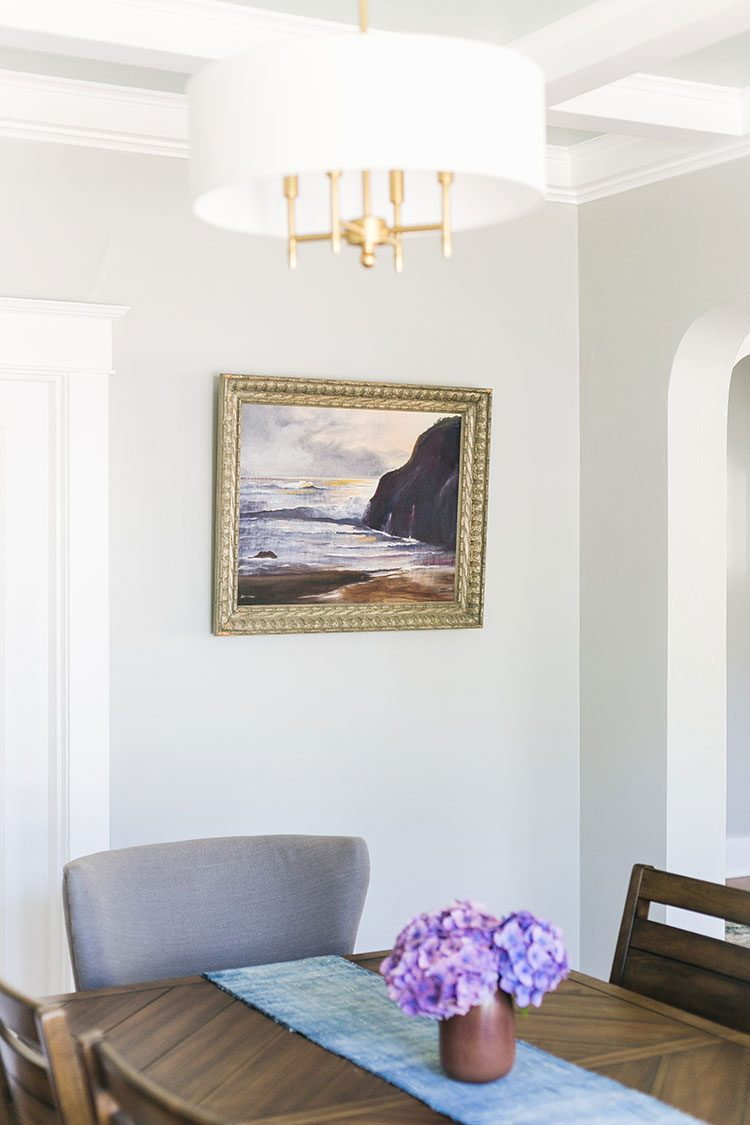 Finishing Touches & Home Decor Details from The Craftsman House Project! A Modern Traditional Living & Dining Room Makeover. See all the reveal photos of this interior design project  on jojotastic.com #craftsman #livingroom #diningroom #beforephotos #interiordecor #interiordesign #moderntraditional