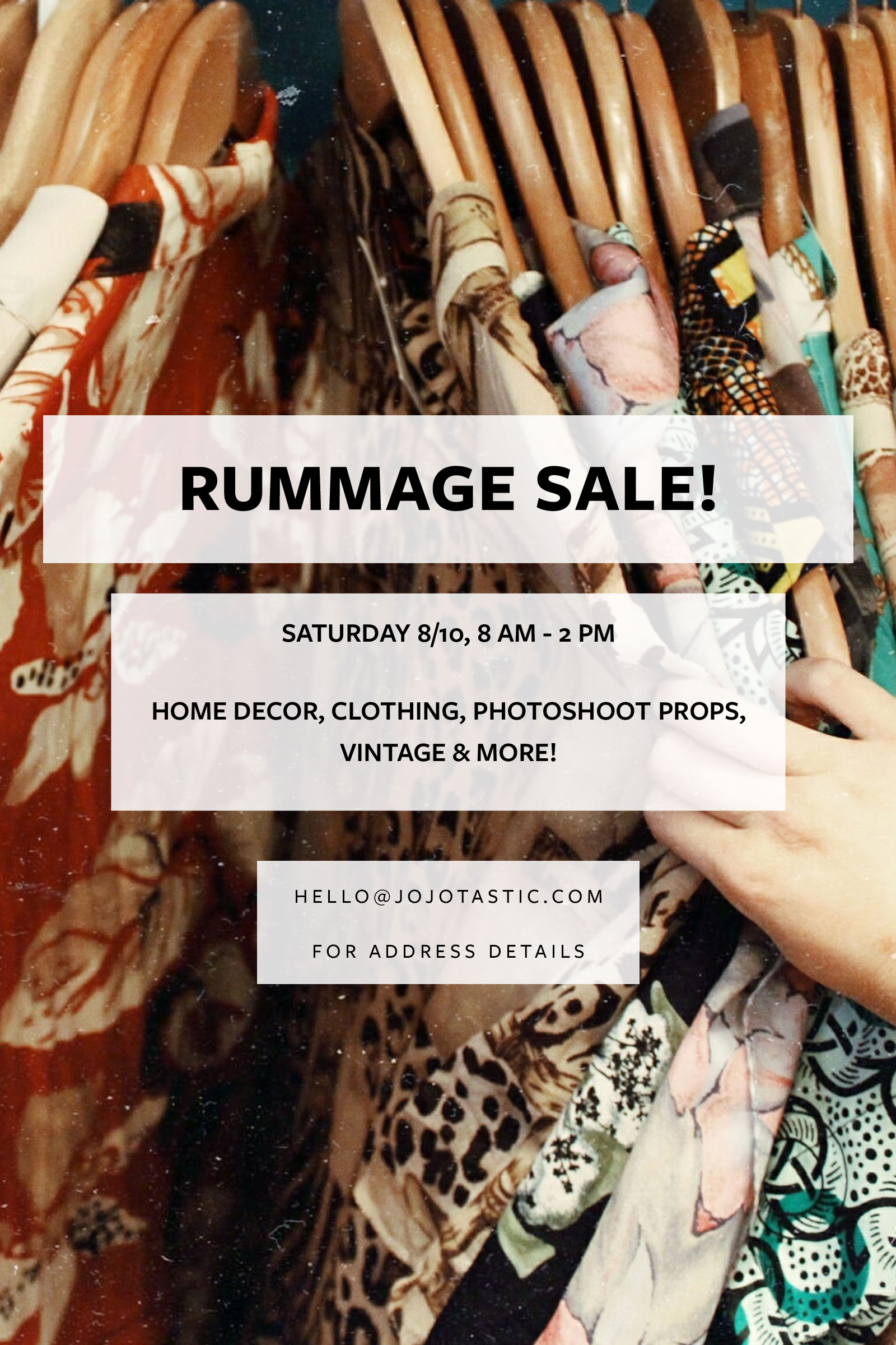 Seattle rummage sale! Come scoop up amazing deals from a photographer and prop stylist in Ballard. Home decor, clothing (some designer), photoshoot props, photography equipment, vintage, and more.