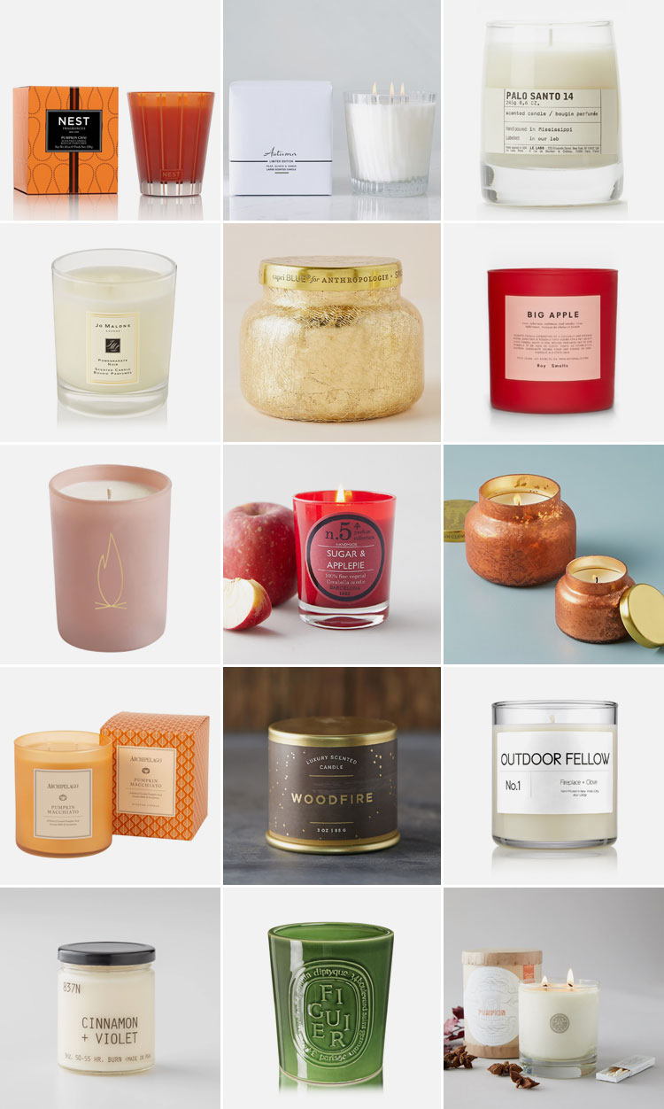 Embrace all Things Hygge with these Cozy Fall Scented Candles! #fall #candles #pumpkin #cinnamon #fallscents #scentedcandle #pumpkincandle #apple #applecider  #hygge #cozy