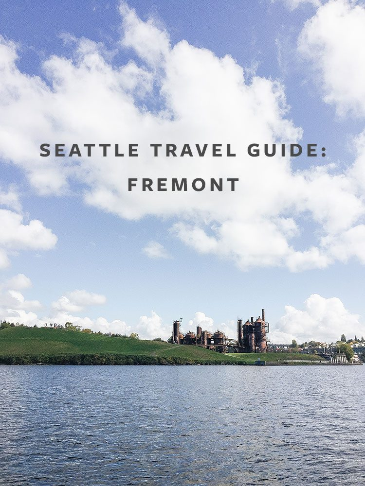 Seattle Travel Guide: What to Eat, See, & Shop in Fremont! Visiting Seattle and the Pacific Northwest? Check out these tips for the Fremont neighborhood in the Emerald City. #seattle #travelguide #fremont #cityguide #PNW #pacificnorthwest