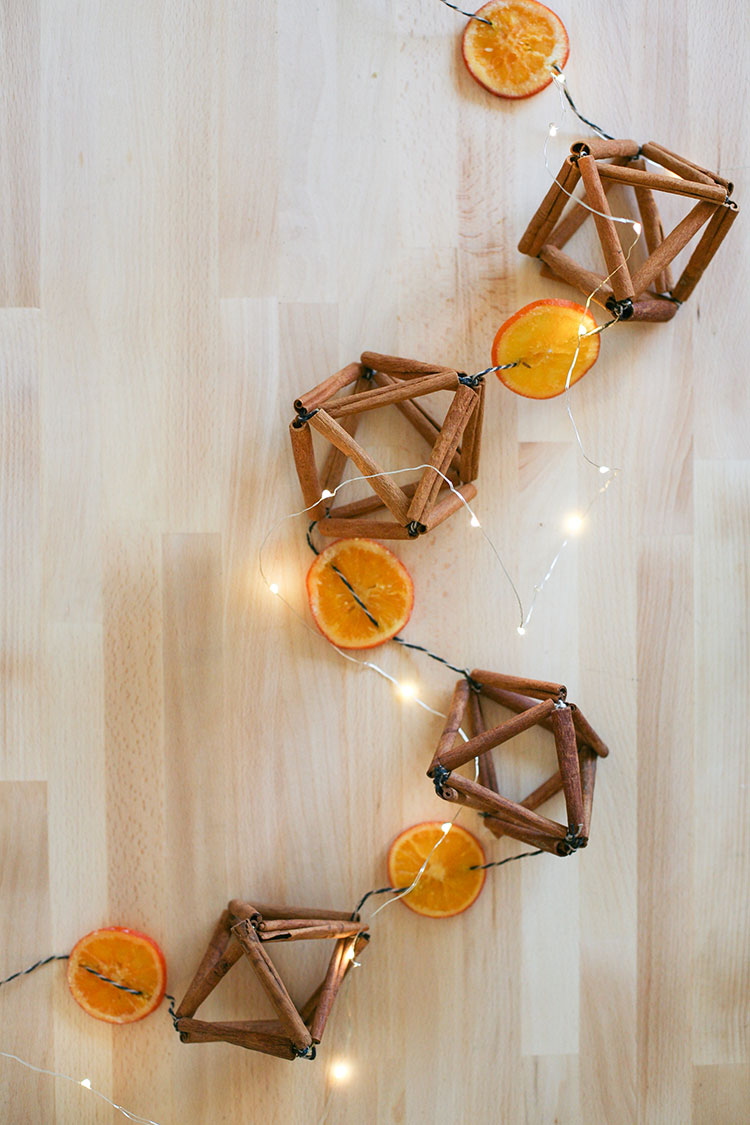 Dried Orange Cinnamon Himmeli Garland Diy Jojotastic