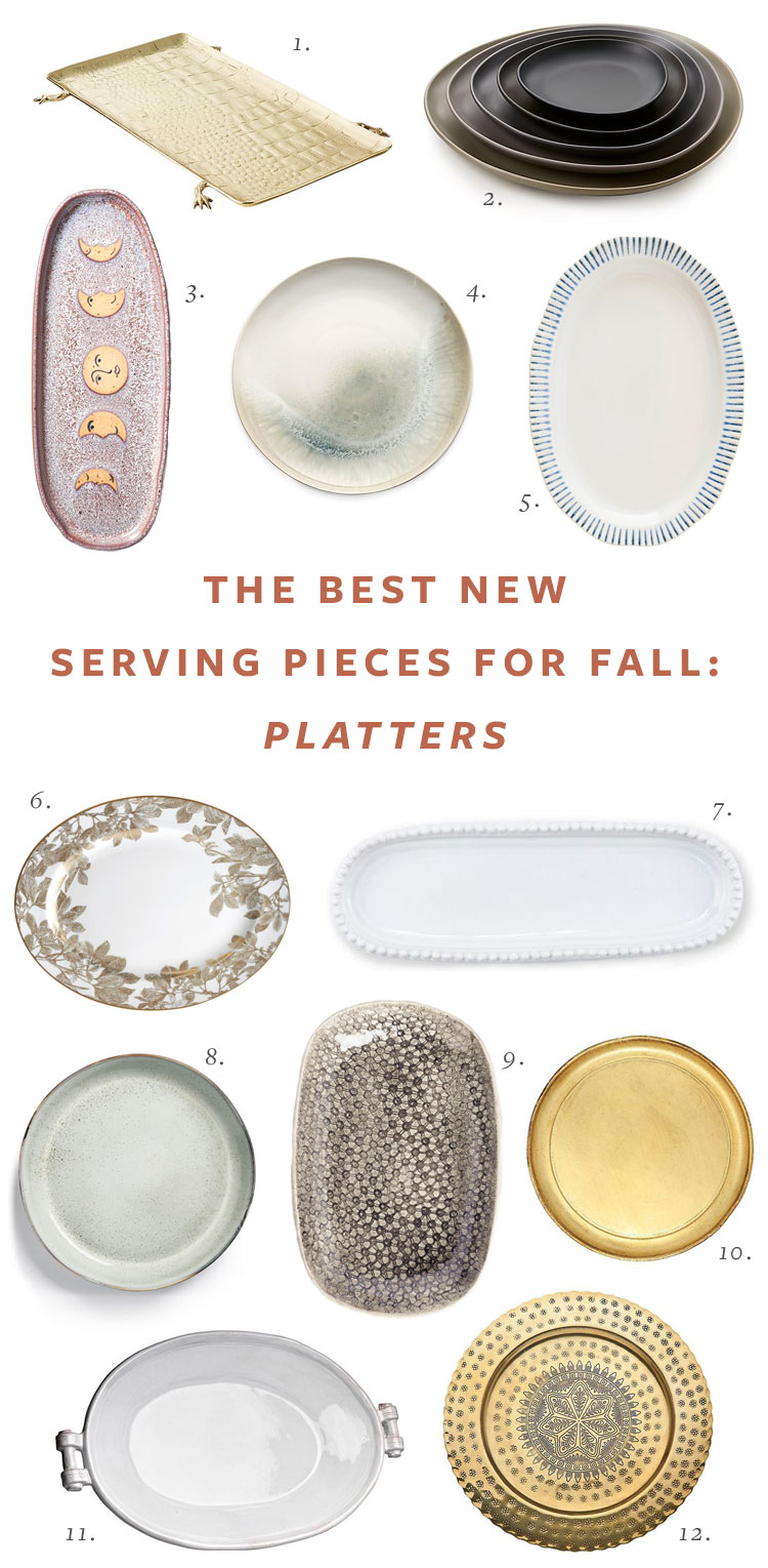 Entertain with These Beautiful Serving Pieces This Holiday Season! Thanksgiving Entertaining Essentials including serveware (platters and serving bowls), serving utensils, and cheeseboards #thanksgiving #entertaining #tabletop #tablescape #hostess #hosting #thanksgivingessentials #entertainingessentials #serveware #cheeseboard #platter #servingbowl #servingutensils