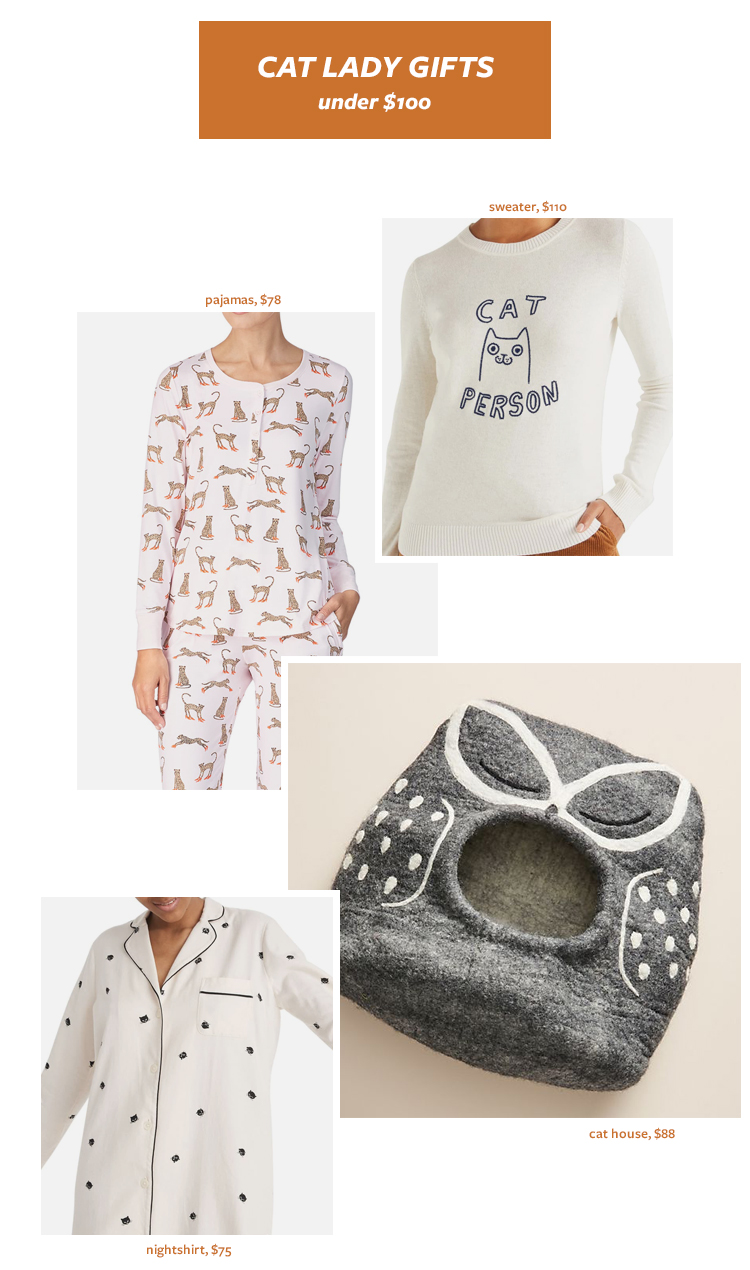 The Best Gift Ideas for The Cat Lady in Your Life! Cat Person Gift Ideas, Gift Guide for Christmas & Holidays 2019 via jojotastic.com #giftguide #giftidea #giftgiving #gifts #presents #christmaspresents #christmasgiftideas #christmasgift #catlady #cats #cat