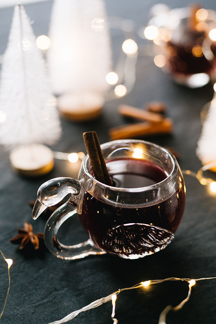 Toast to Good Health with My Italian Style Mulled Wine Recipe aka Vin Brule! Easy mulled wine cocktail, batch cocktail for entertaining holiday guests. Made with vanilla, red wine, spices, orange zest & more #cocktailrecipe #cocktail #mulledwine #spicedwine #italianmulledwine #winecocktail #holidaycocktail #holiday #christmas #christmascocktail #vinbrule