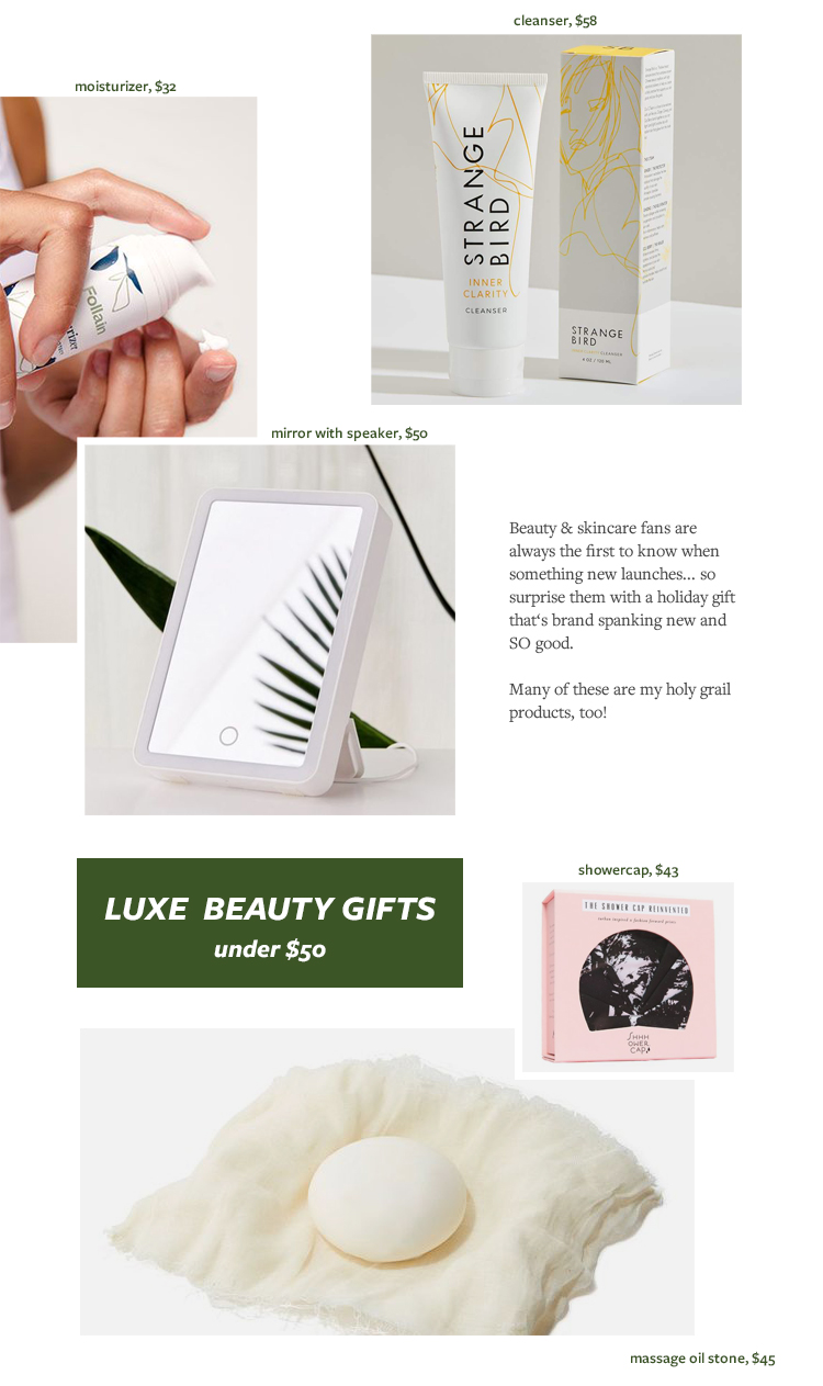 The Must-Have, Luxurious Beauty Gifts That They'll Love! Beauty and Skincare Gift Ideas, Gift Guide for Christmas & Holidays 2019 via jojotastic.com #giftguide #giftidea #giftgiving #gifts #presents #christmaspresents #christmasgiftideas #christmasgift #skincare #wellness #beauty #skincaregifts #beautygifts #beautybuff