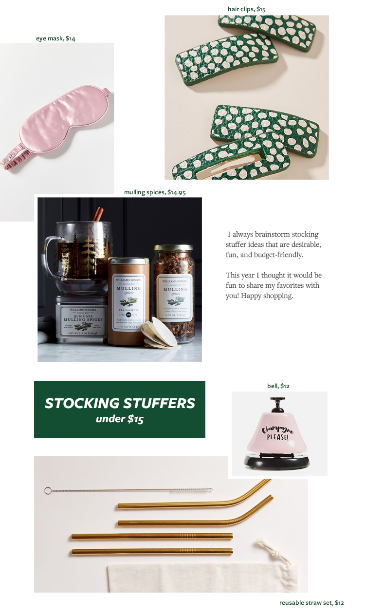 The Best Stocking Stuffer Ideas for Any Budget! Stocking stuffers under $5, under $10, under $15 on jojotastic.com  #giftguide #giftidea #giftgiving #gifts #presents #christmaspresents #christmasgiftideas #christmasgift #stockingstuffers #affordablegift #budgetfriendlygiftideas
