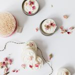 Reduce Waste in Your Beauty Routine with These 5 Tips! Reusable and washable cotton pads, upcycling containers, how to make your own skincare, and more! #greenliving #eco #smallspaces #sustainableliving #sustainable #sustainability #skincareroutine #cleanbeauty #wellness #selfcare #cleanskincare #naturalskincare