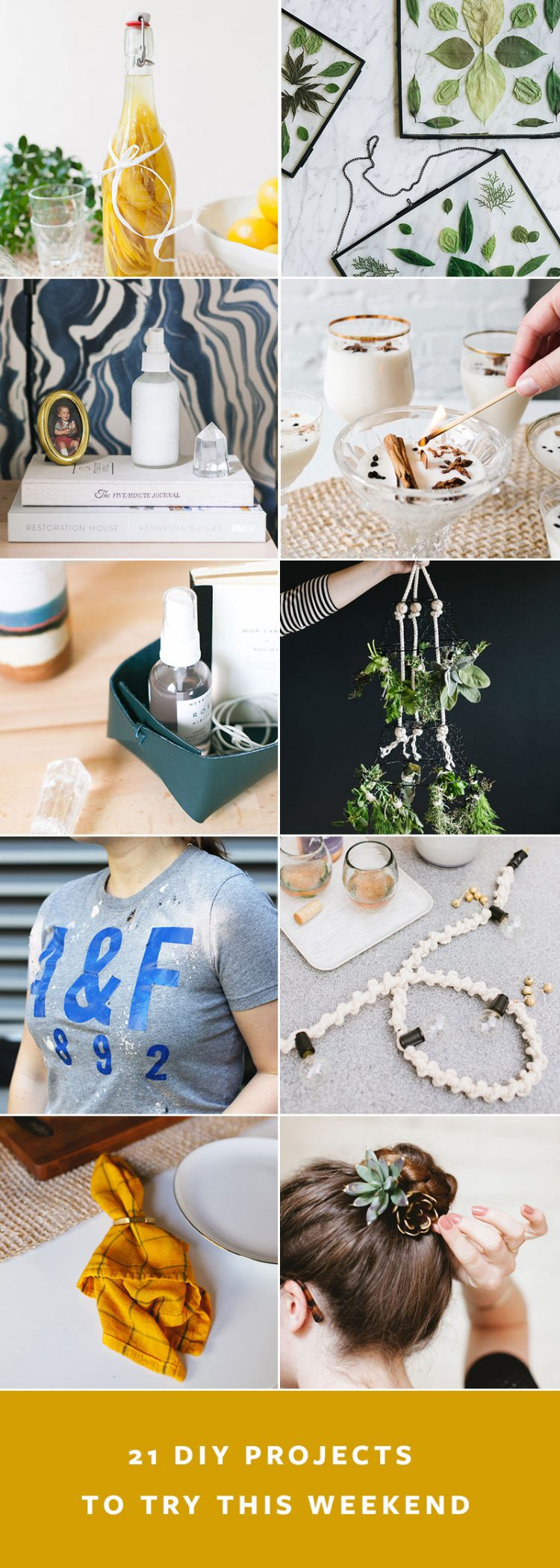 Try Any of These 21 DIY Projects to Lift Your Mood & Distract You! kid-friendly craft projects, essential oils, how to ice dye, DIY craft projects. #DIY #crafts #tutorials #diyprojects