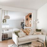 Small Space Squad Home Tour: Inside the Perfectly Bright and Airy Beach home of Lory Dail in Huntington Beach California, small studio apartment with big style #smallspaces #tinyhouse #livesmall #smallspacesquad #hometour #housetour #minimalist #minimalism #boho #bohemian #bohostyle #californiacool #neutralhome #neutralinteriors