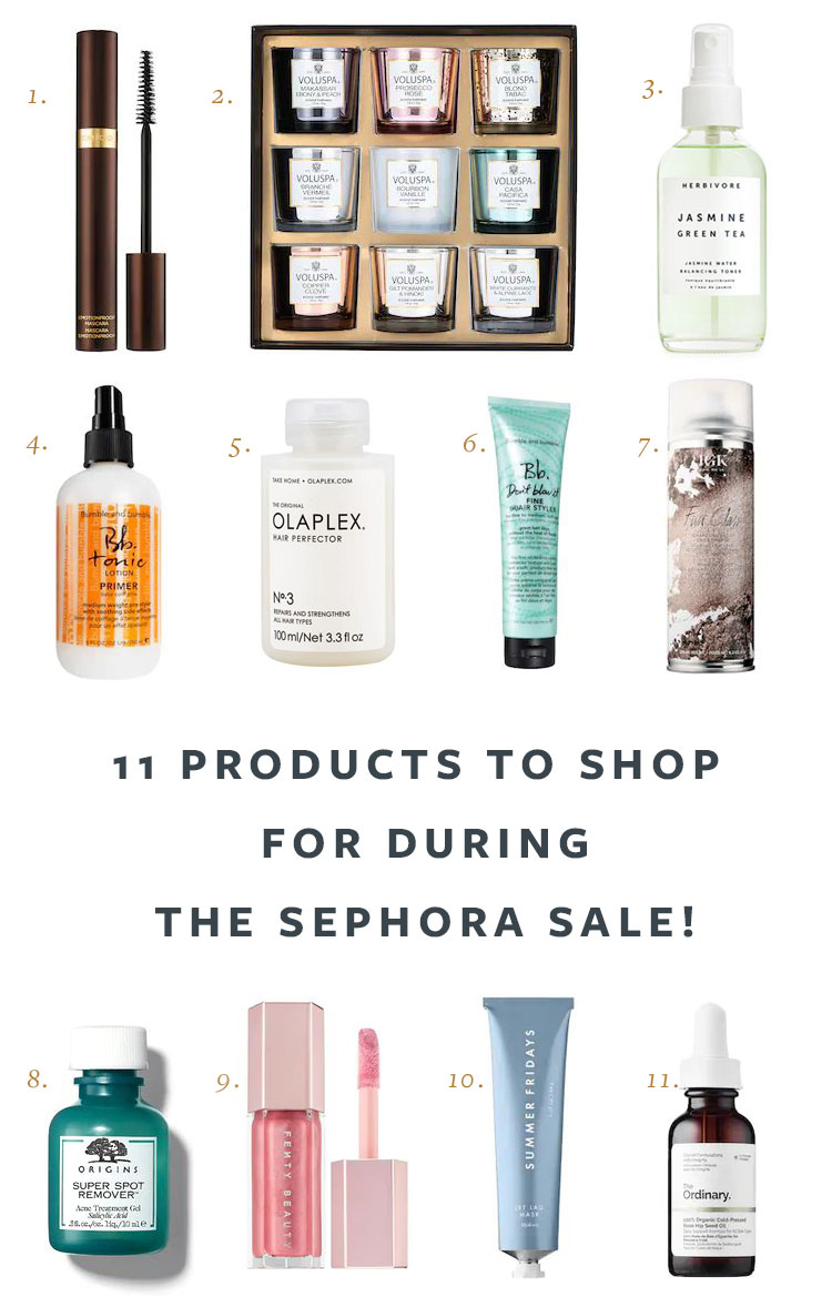 11 Products to Shop for During the Sephora Spring Savings Event! clean beauty products and hair care sale, up to 20% off at Sephora. #beautyproducts #sephora #cleanbeauty #haircare