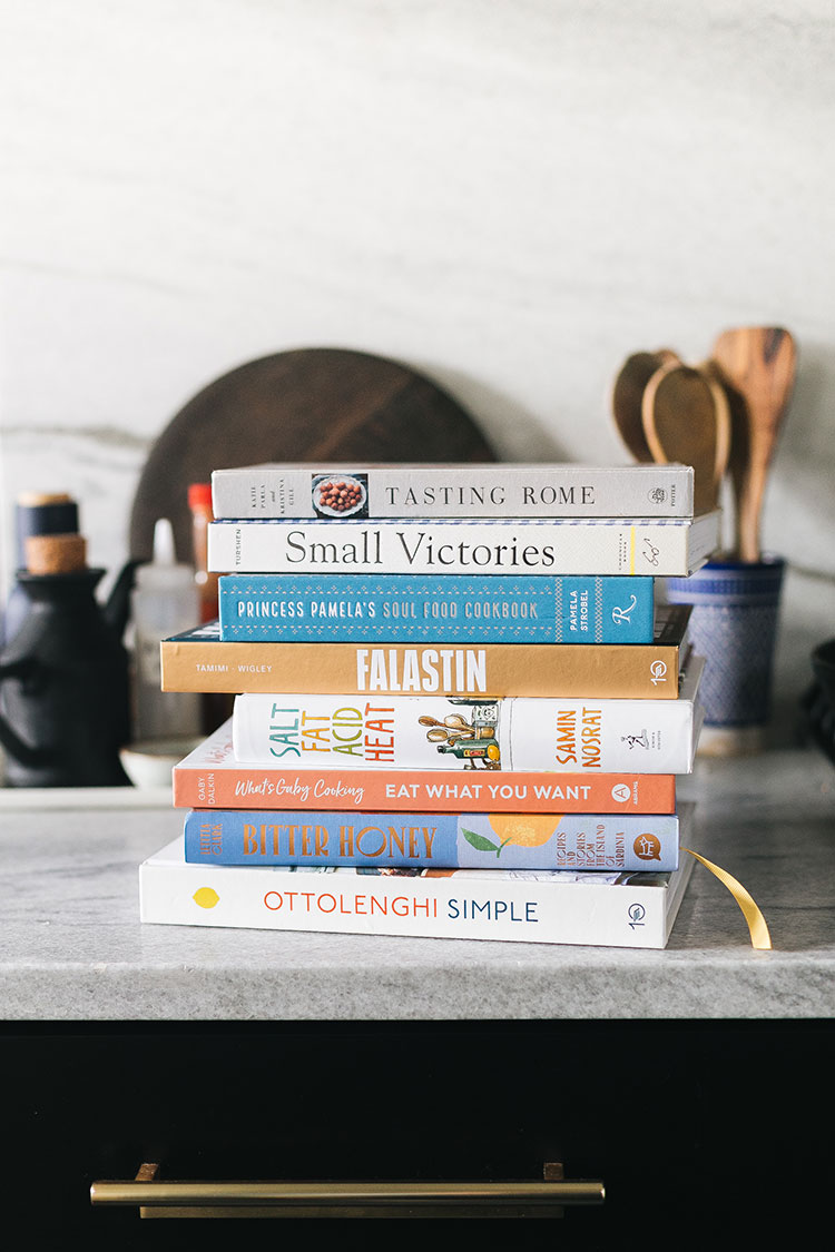 8 Cookbook Recommendations to Inspire You To Try Something New in the kitchen! Easy dinner ideas, weeknight meal recipes, my favorite must-have cookbooks #cooking #cookbooks #bookrecommendations
