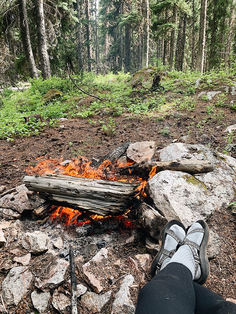 How to Solo Camp as a Woman & Why It's Important to Me! Tips for going camping by yourself and being safe.  Pacific Northwest camping, camping for self-care. #camping #solocamping #selfcare #wellness