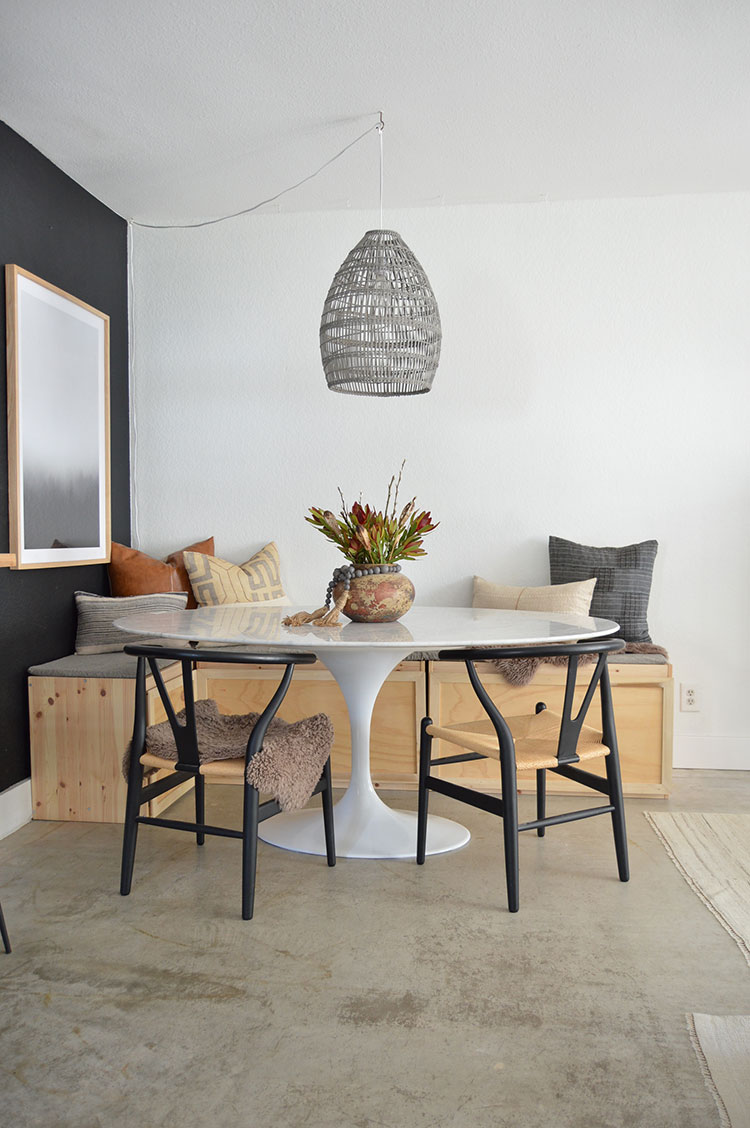 Small Space Squad Home Tour: Inside the California casual neutral home of Bri Moysa, small house with big style @brimoysa #smallspaces #tinyhouse #livesmall #smallspacesquad #hometour #housetour #minimalist #minimalism #neutralhome #californiacasual
