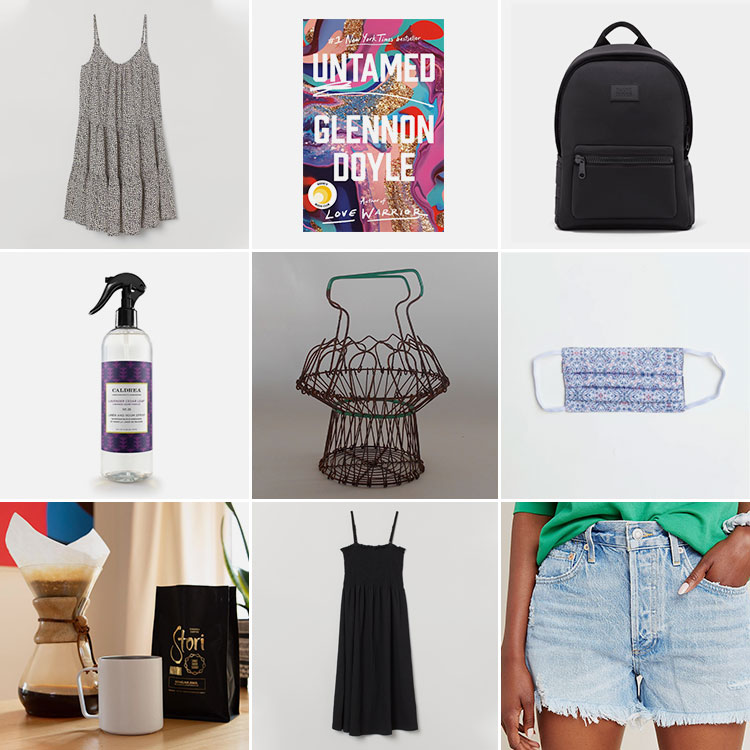 Joanna's Things of Note from August 2020 (including the Untamed by Glennon Doyle, H&M dresses, AGOLDE jean shorts & more) #thingsofnote #shopping #shoppingguide #musthaves #favoriteproducts
