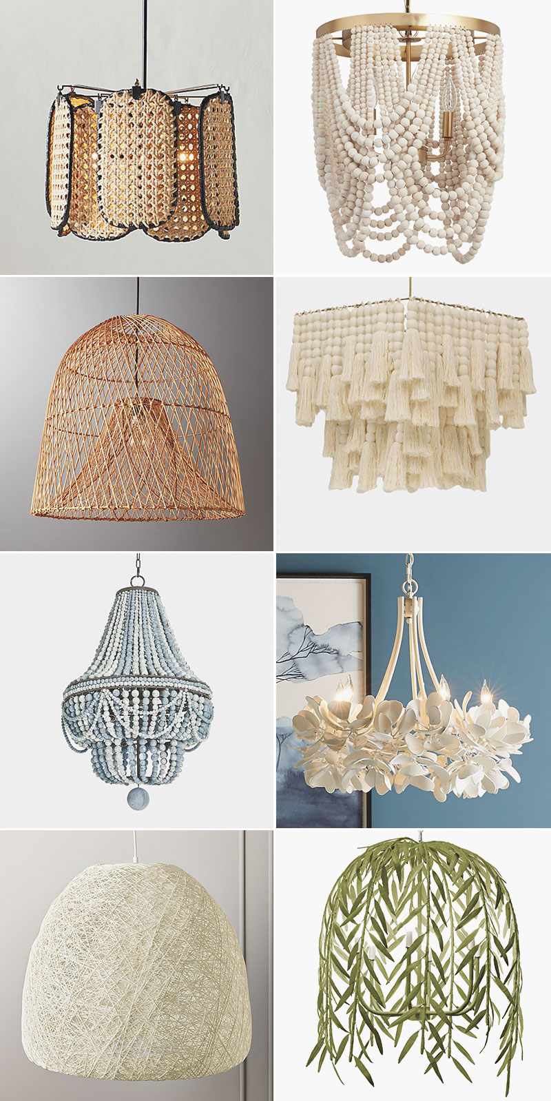 Looking for a Modern Chandelier? Check Out These Options in cut glass, crystal, brass, matte black, and unexpected materials for large dramatic chandeliers! #lighting #chandelier