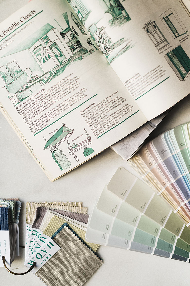 My comprehensive and complete interior design process: how to make a moodboard, how to plan an interior design project, how I get inspired, how to create a floor plan, how to source furniture and more!