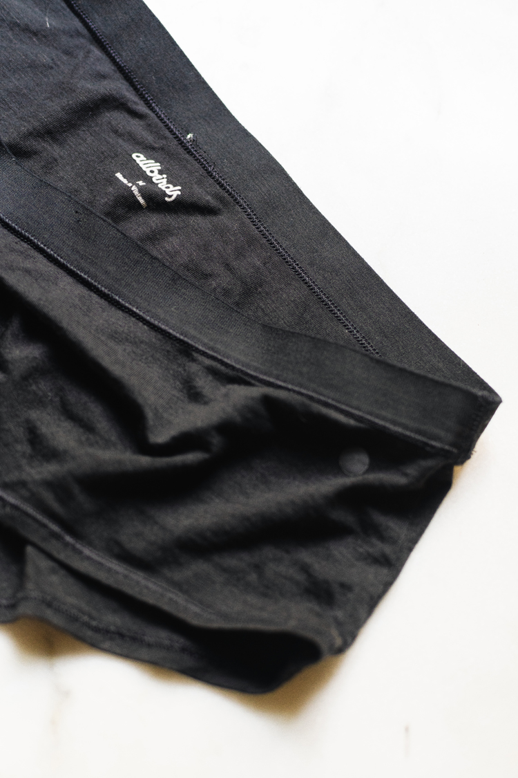 My unbiased and unfiltered review of Allbirds underwear including the athletic hipster underwear and bikini underwear! tips and tricks from a textile designer and fabric expert to help you be a more informed consumer and better shopper. Full review including washability, inclusivity, fit, sustainability and ethical practices.